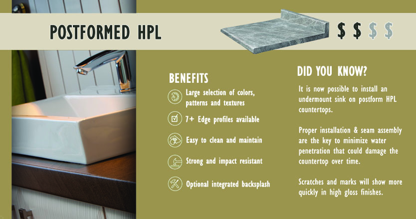 What Is Post Formed Plastic Laminate